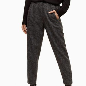 Babaton Dexter Pant Cropped Wool-blend Dress Pant